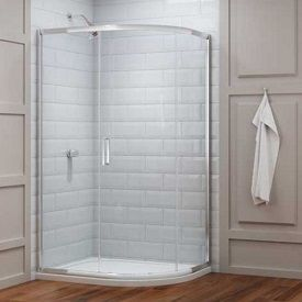 Merlyn 8 Series Offset Quadrant Shower Enclosure With Tray 1200mm X 900mm Right Handed Quadrant Shower Enclosures Quadrant Shower Shower Enclosure