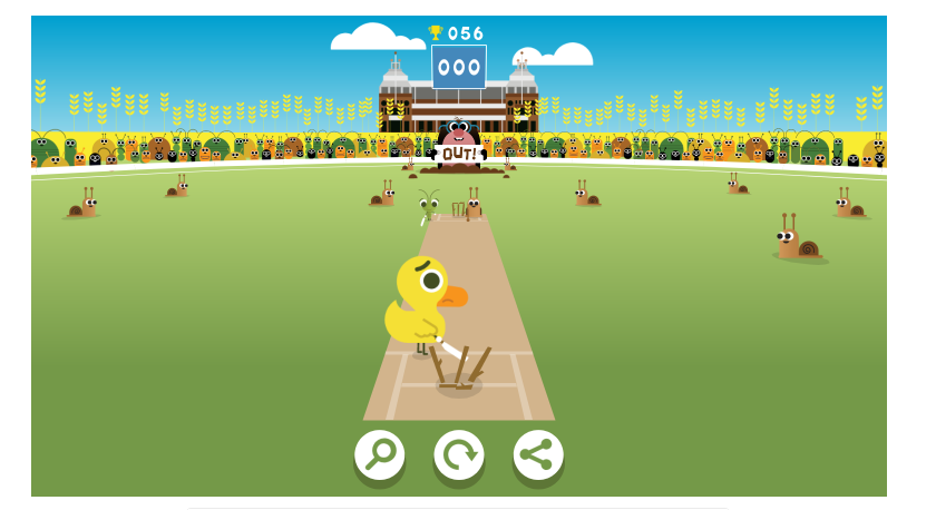 Women S Cricket World Cup 2017 Google Doodle Hides The Most Addictive Mini Game Mini Games Google Doodles Cricket World Cup