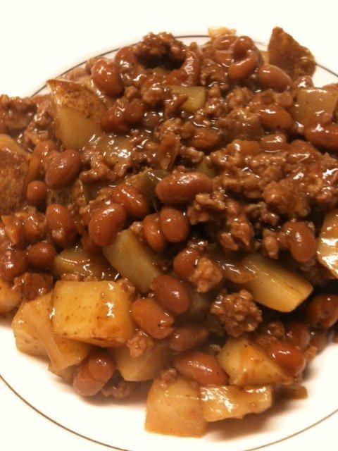 Say Grace: Recipes for Busy Families: Susans Cowboy Stew