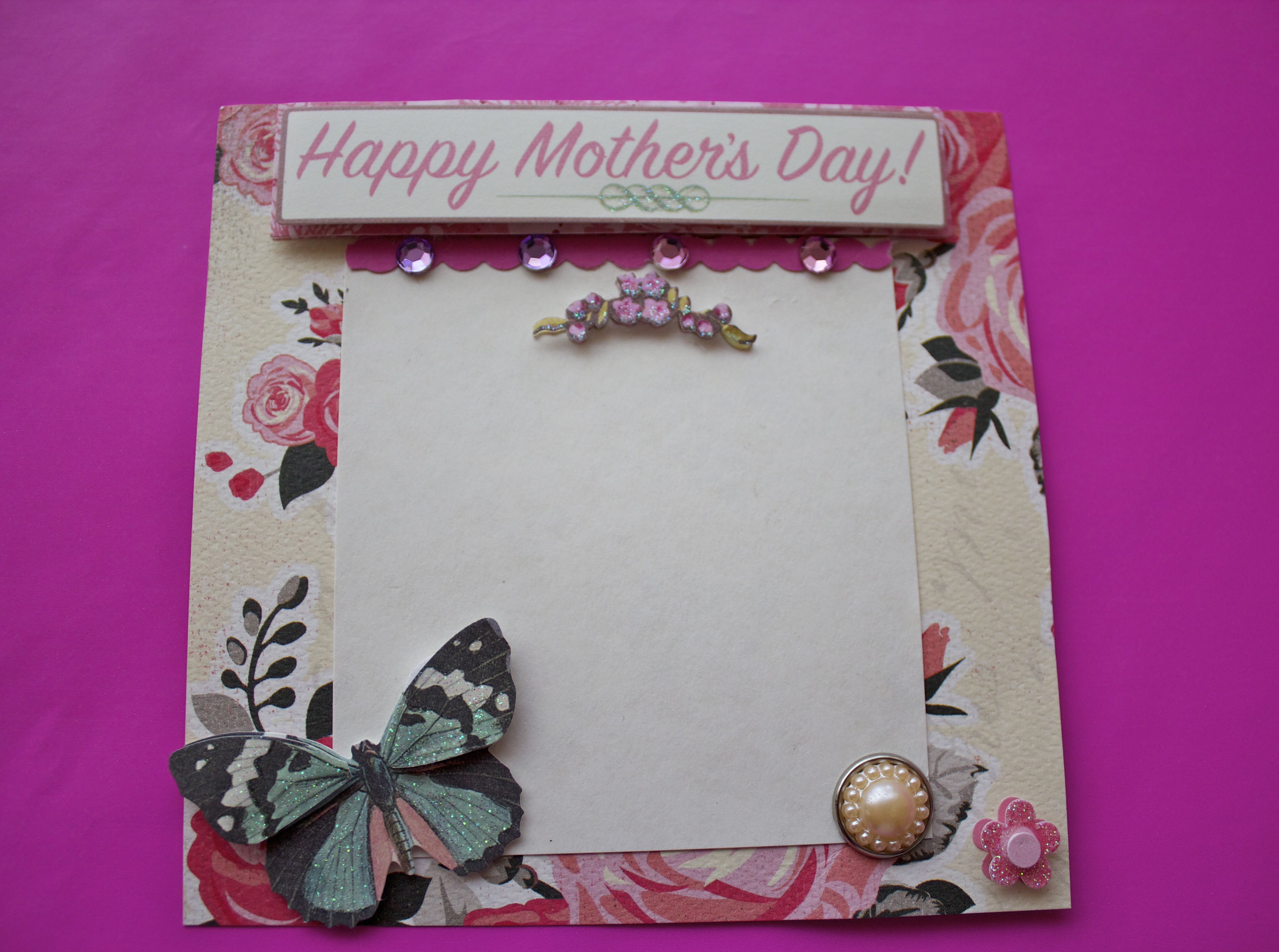 Handmade Mothers Day Cards By Me