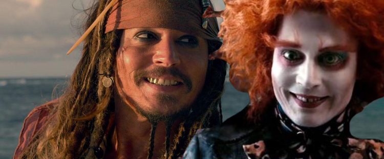 Mad Hatter&Jack Sparrow