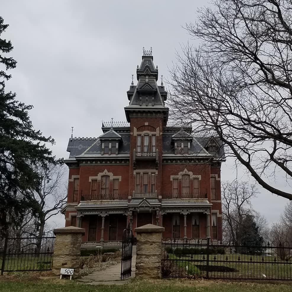 Built By Colonel And Mrs. Harvey Vaile In 1881. The Kansas