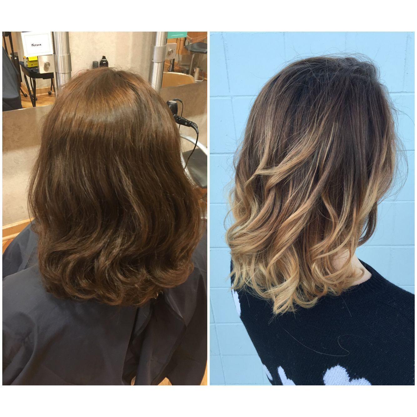 Beautiful Ombre On Short Hair Mia Maxx Hair Studio Bellingham Wa