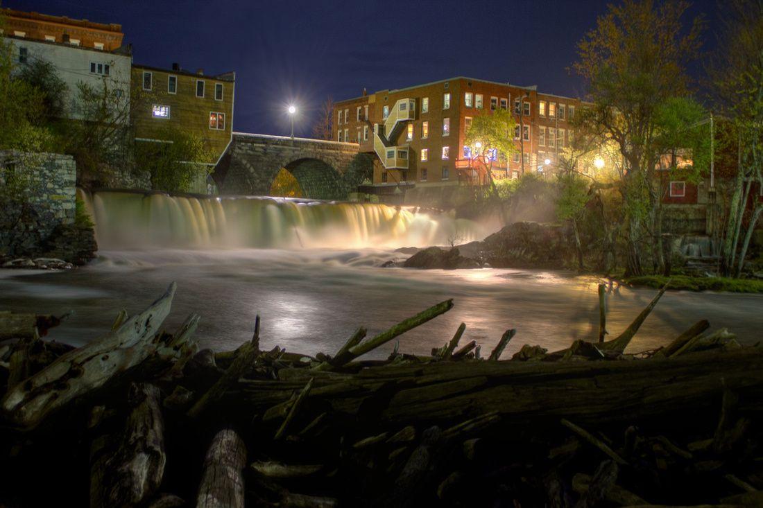 Otter creek falls in middlebury vermont httpwww