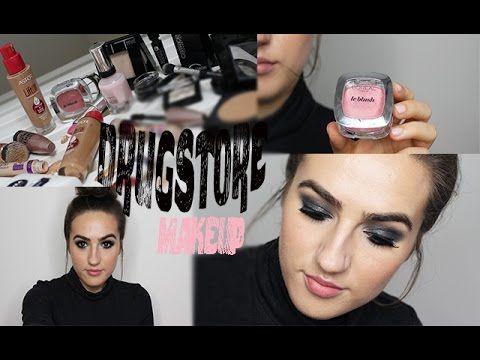 Fun Ako sa nalíčiť s kozmetikou z našej drogérie #3/ Drugstore makeup tutorial #nalíčiť