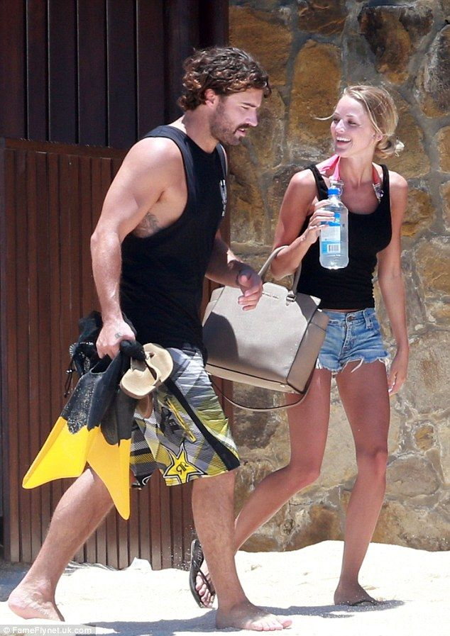 Brody Jenner Hits The Beach With Kaitlynn Carter In Cabo