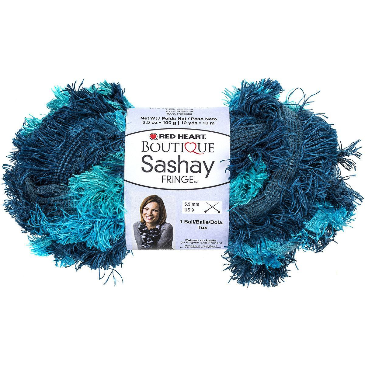Red heart boutique sashay fringe yarn surf products pinterest
