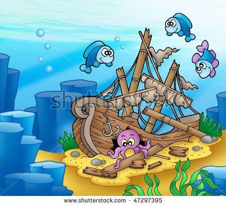 Octopus Cartoon Stock Photos, Images, & Pictures | Shutterstock