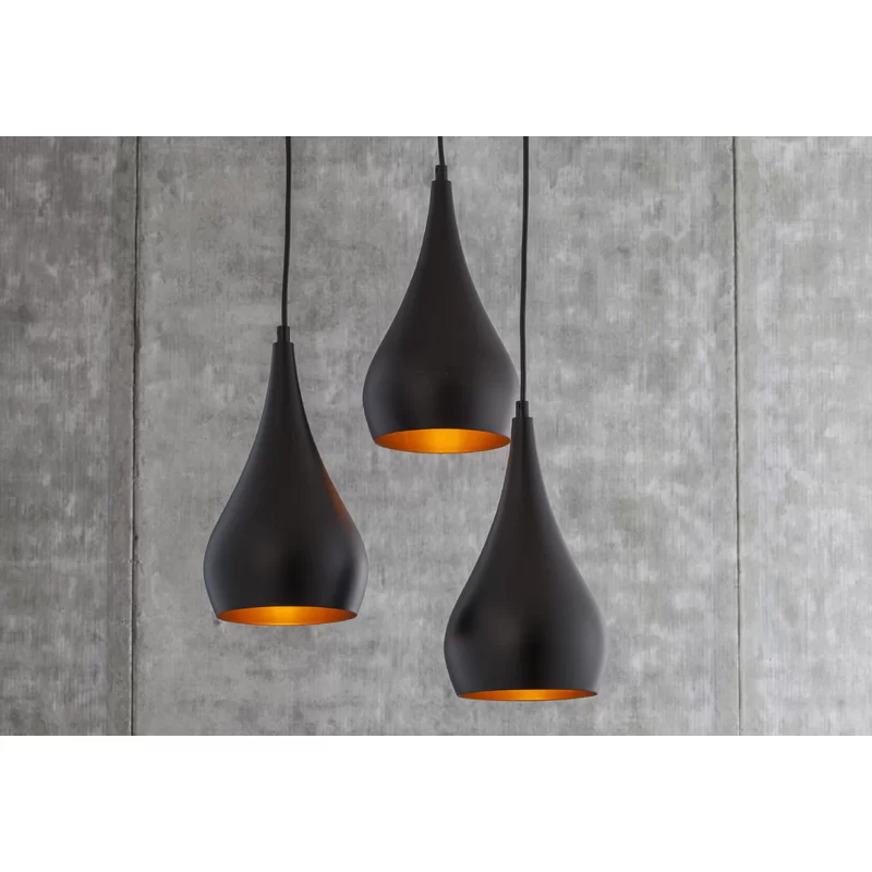 Berenice 3 Light Cluster Teardrop Pendant Reviews Allmodern Available In White And Ni In 2020 Cluster Pendant Lighting Bathroom Pendant Lighting Bathroom Pendant