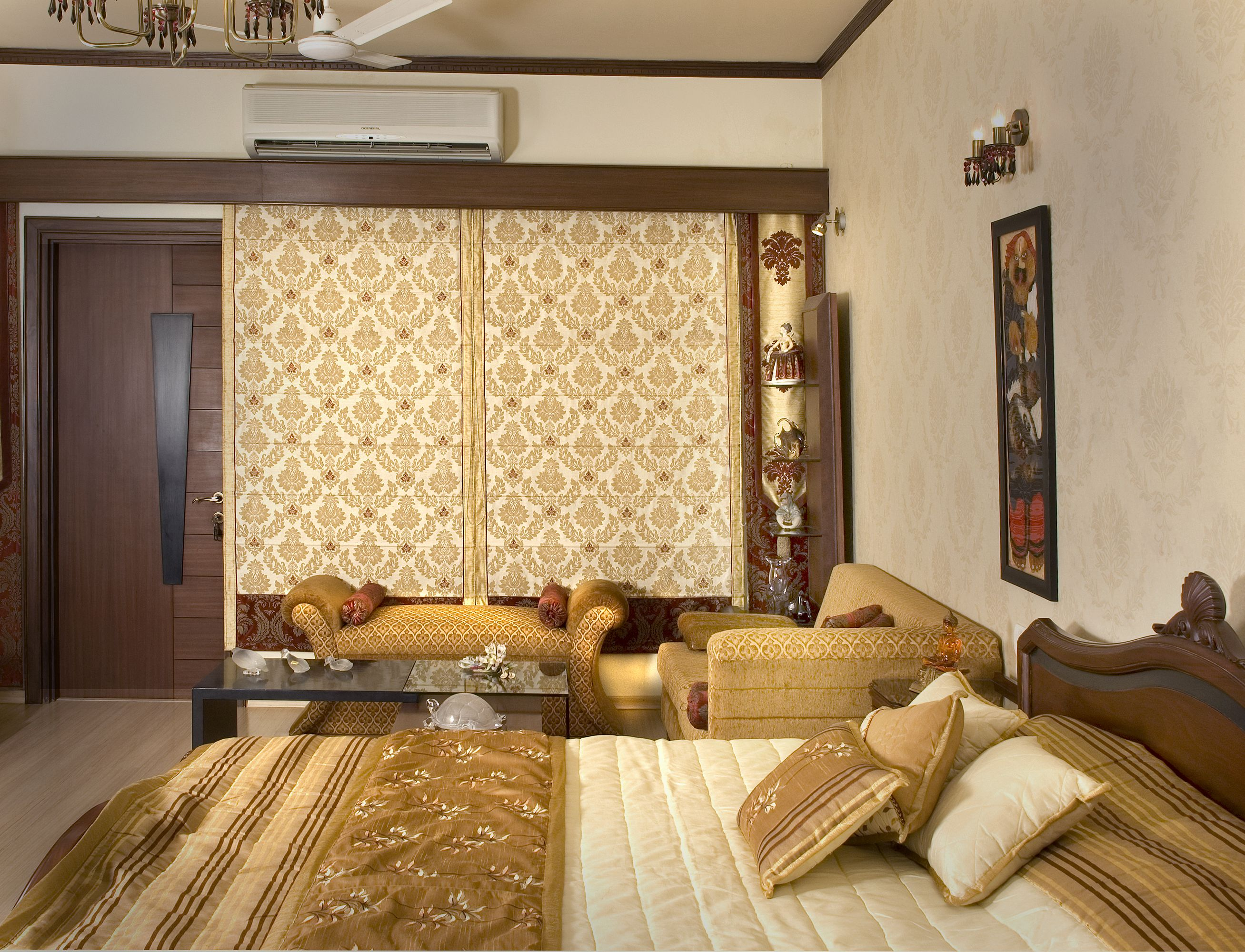 Luxury Master Bedroom, Design by Madalsa Soni, Interior ...