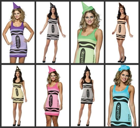 7915d17c045 Group Costumes for Girls | random... | Crayon costume, Group ...