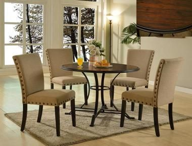 Carson Round Dinette Table Set Dining Room Sets Dinette Tables Home Decor