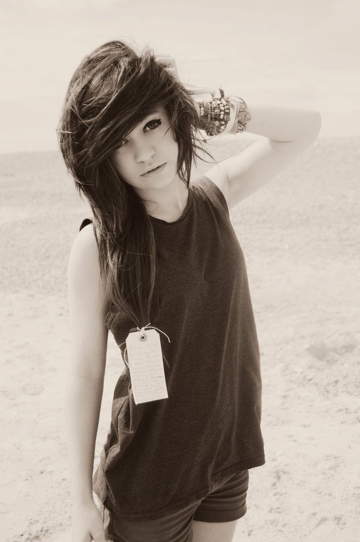 Black and white hair pinterest emo and hair style