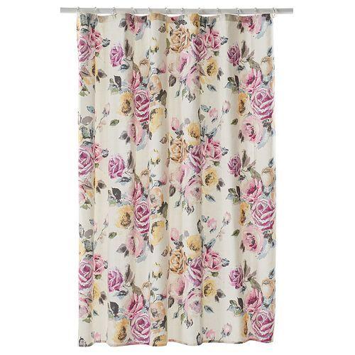 Lc Lauren Conrad Rose Garden Shower Curtain Garden Shower