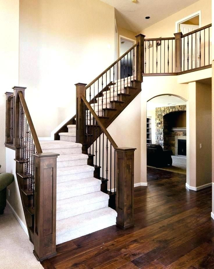 Indoor Stair Railing Ideas Interior Stair Railing Ideas