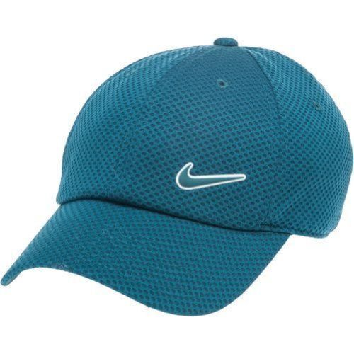 Nike Women Legacy 91 Dri Fit Mesh Adjustable Cap Midnight Turquoise