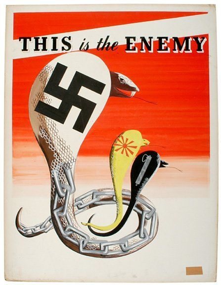 This is the enemy | Propaganda & War Posters | Ww2