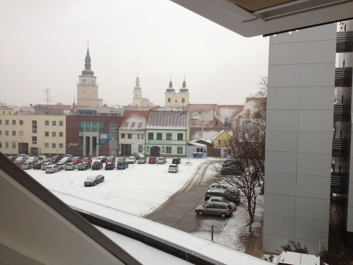 View from Holliday Day Inn  Trnava City in Slovakia