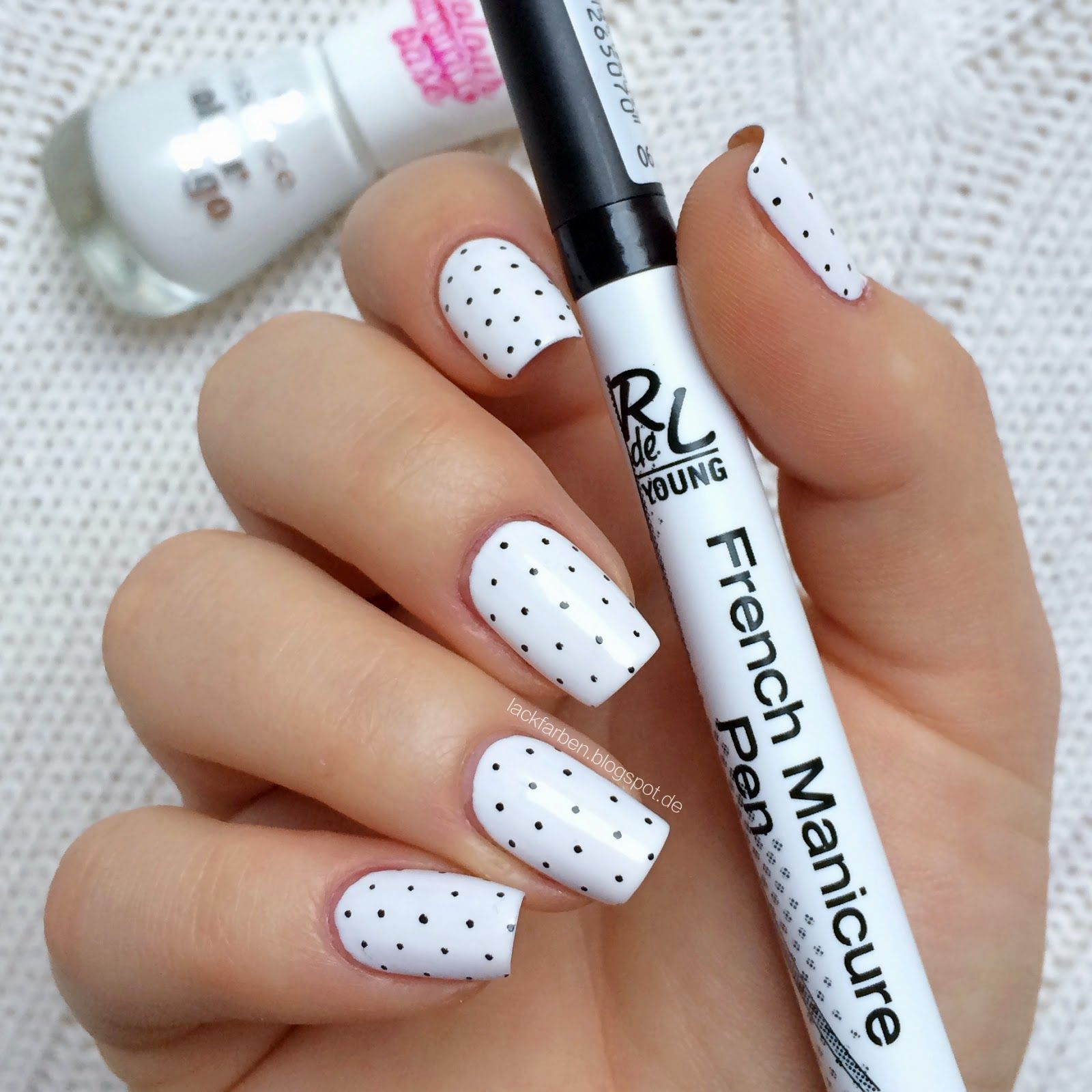 Essence - White Wild Ways RdeL Young French Manicure Pen @Lackfarben ...
