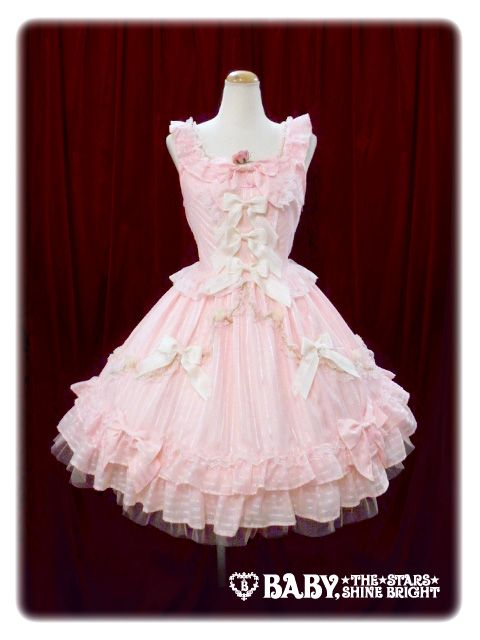 Baby, the Stars Shine Bright | Blooming Fairy Doll JSK in Pink