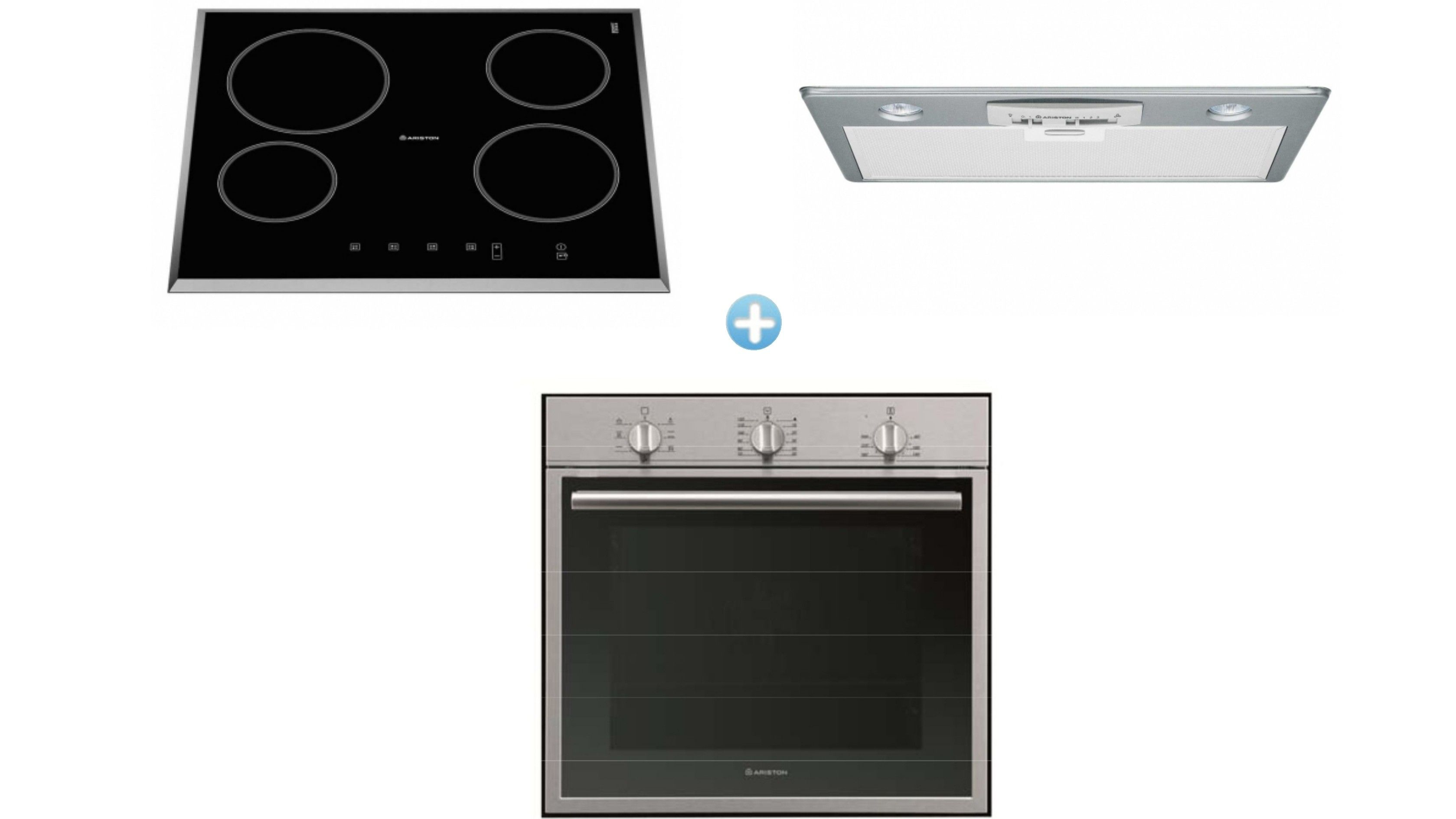 Ariston Cooking Package with Multi-Function Oven Undermount ...