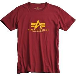 Photo of Alpha Industries Basic T-Shirt Rot M Alpha Industries Inc.
