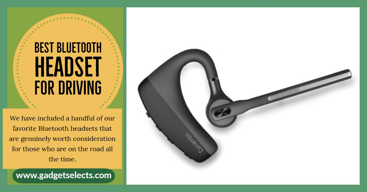 Best Bluetooth Headset For Driving Bluetooth Headset Headsets Bluetooth