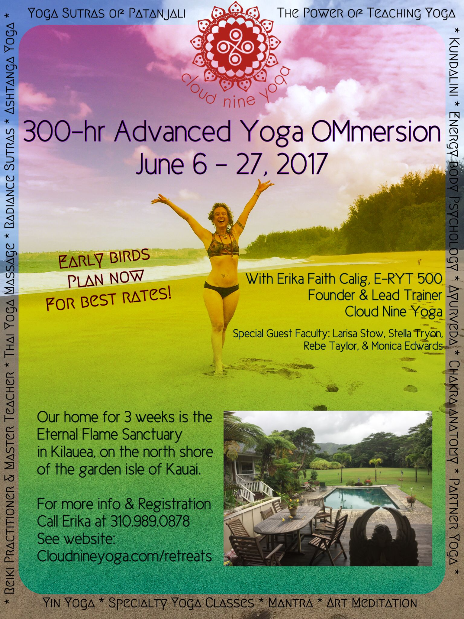 This is the opportunity of a lifetime to study with Master Yogini ...