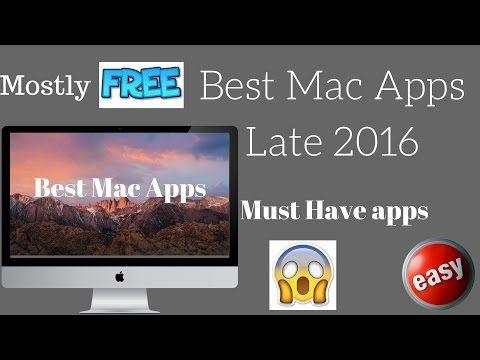 Best Mac Apps (Late 2016, Early 2017) - YouTube MacBook Air