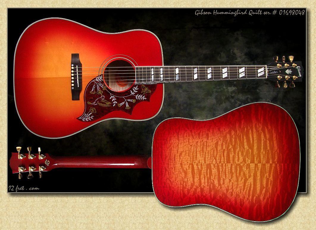 Hummingbird Gibson Acoustic Gibson Guitars Guitar