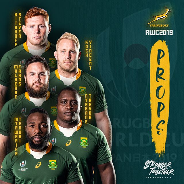 Springbok World Cup Squad Announced Are You Ready South Africa Strongertogether Springbok Rugby South African Rugby Rugby Players