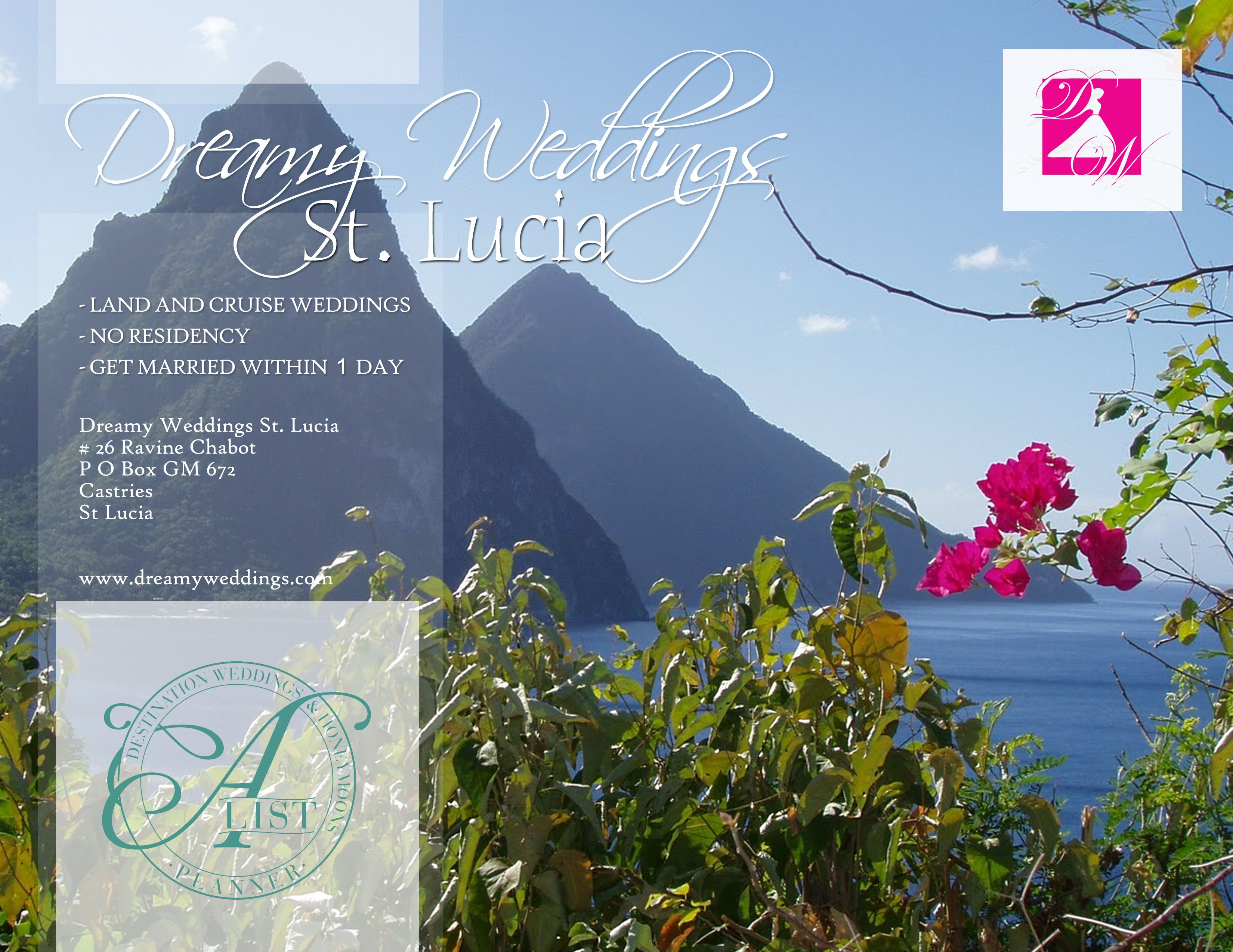 Planning a st lucia wedding why not try the hummingbird