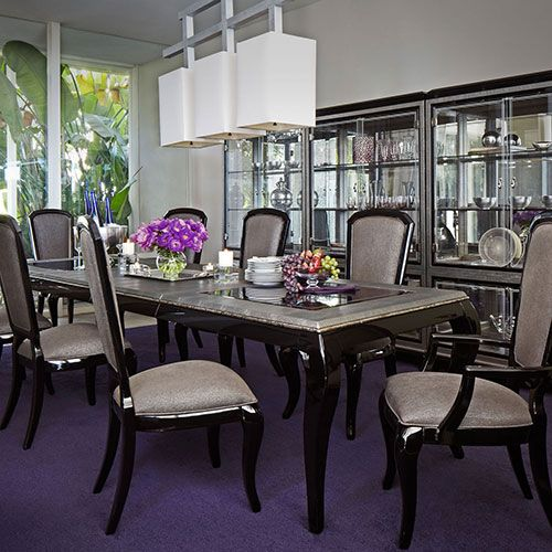Michael Amini After Eight Collection At Mobilia Furniture Store Brooklyn Themobilia Formal Dining RoomsDining