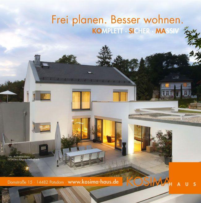 Baupartner Des Monats Juni 2017 Frei Planen Besser Wohnen Kosima Haus Komplett