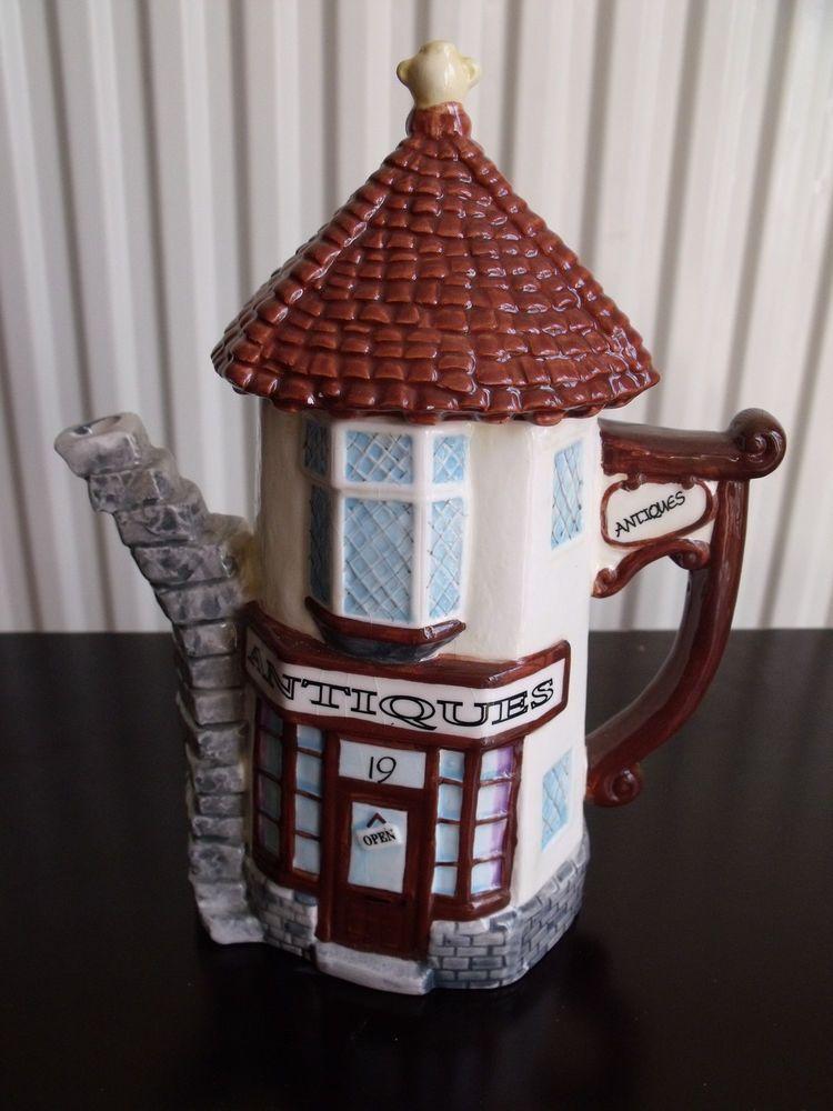 Leonardo Collection Antiques Shop Teapot Cottage Ware