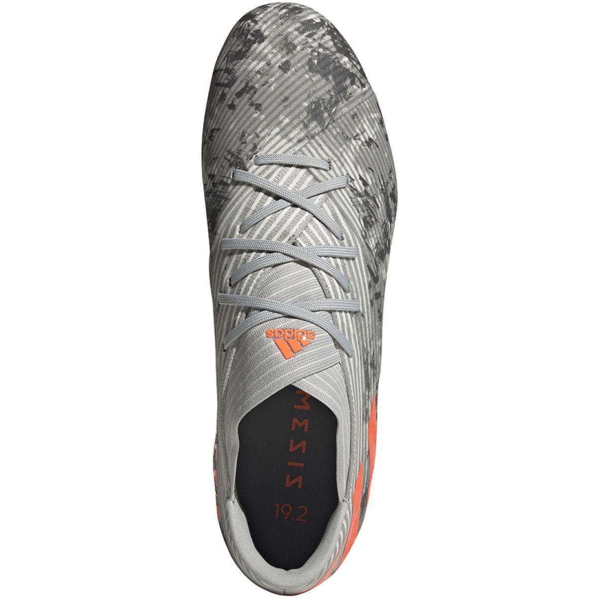 Buty Pilkarskie Adidas Nemeziz 19 2 M Fg Ef8288 Szare Wielokolorowe Calzado Deportivo Futbol Deportes