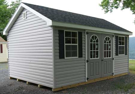 we have many vinyl sheds to choose from but all our vinyl storage sheds come with 30 year singles plywood interior pressure treated joists more - Garden Sheds Vinyl