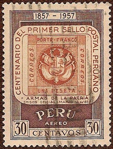 Perú Para Los Filatélicos Estampillas De Correo Sellos Postales Sellos