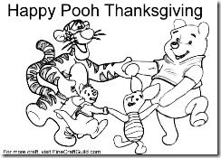 Free Thanksgiving Coloring Pages To Print Winnie The Pooh Thanksgiving Coloring Pages Free Thanksgiving Coloring Pages Disney Thanksgiving