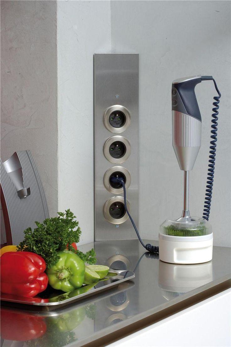 Bloc De Pris D Angle Pour Cuisine En Inox Cuisissimo Interieur Moderne De Cuisine Interieur De Cuisine Cuisine Moderne