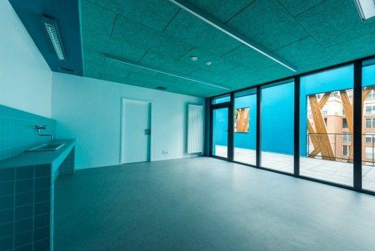 espace culturel et de loisirs ecl chaville laraqui bringer architecture realisation. Black Bedroom Furniture Sets. Home Design Ideas