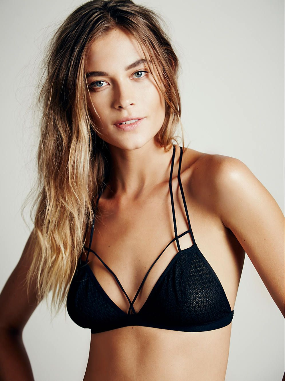 f27c9fbe746 Intimately Front Strap Triangle Bra at Free People Clothing Boutique