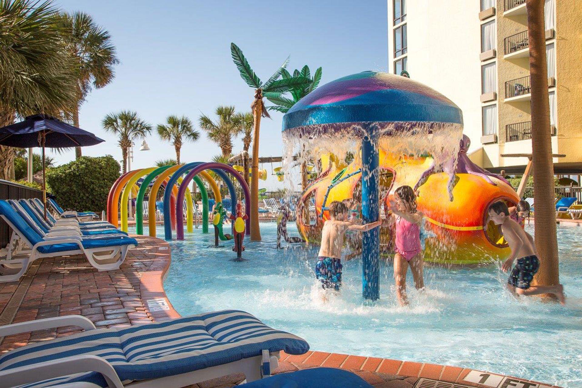 Sea Crest Oceanfront Resort Water Park; Courtesy of Sea
