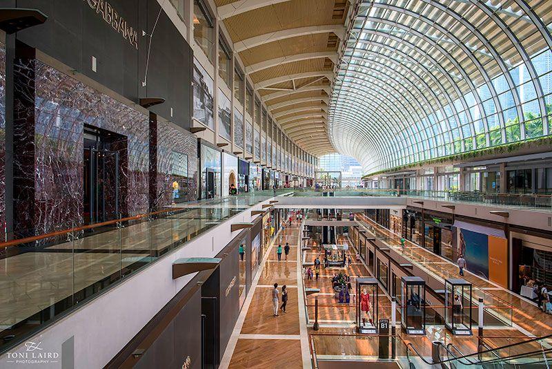 Shopping at Marina Bay Singapore