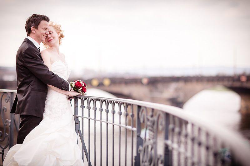 Hochzeitsfotograf Dresden - Janine und Jan in der Frauenkirche Dresden