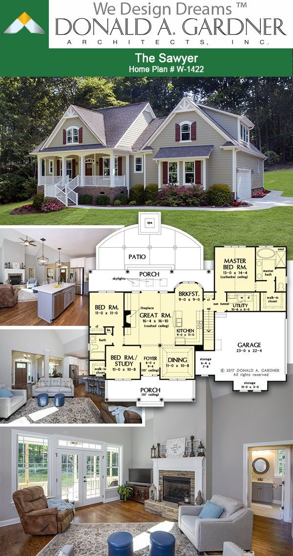 House Plans The Sawyer Home Plan 1422