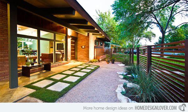 Landscape Houses 15 modern front yard landscape ideas | modern front yard, front