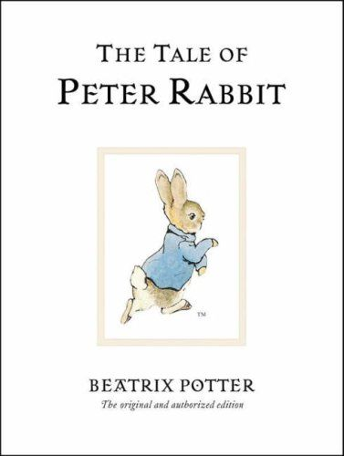 Beatrix Potter books in our 'vintage children's section'. The classic old books like The Wind in the Willows, Aesops Fables, Chronicle of Narnia books, etc.