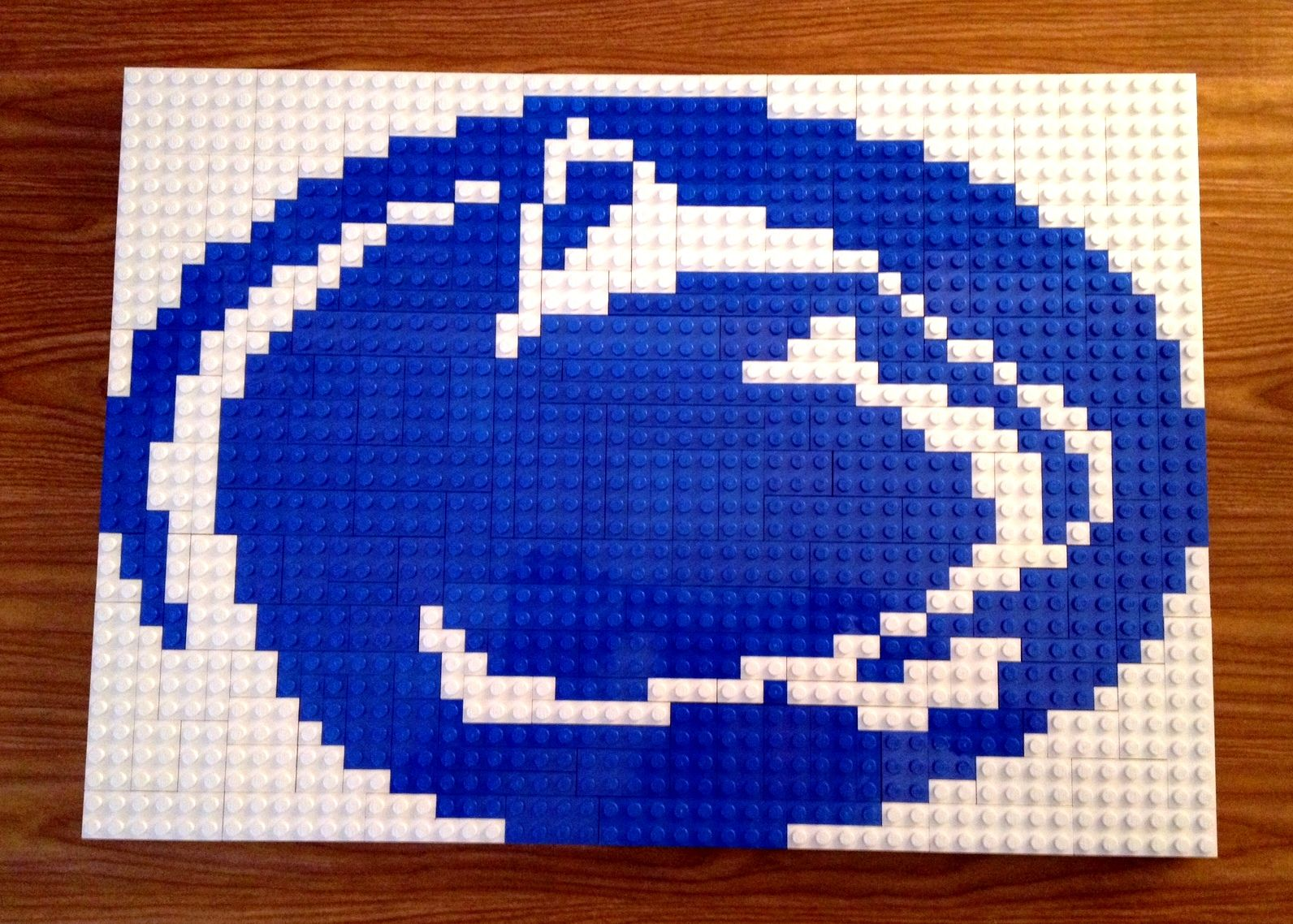 Penn State Nittany Lion Lego Logo Design From Keeping It Crafty
