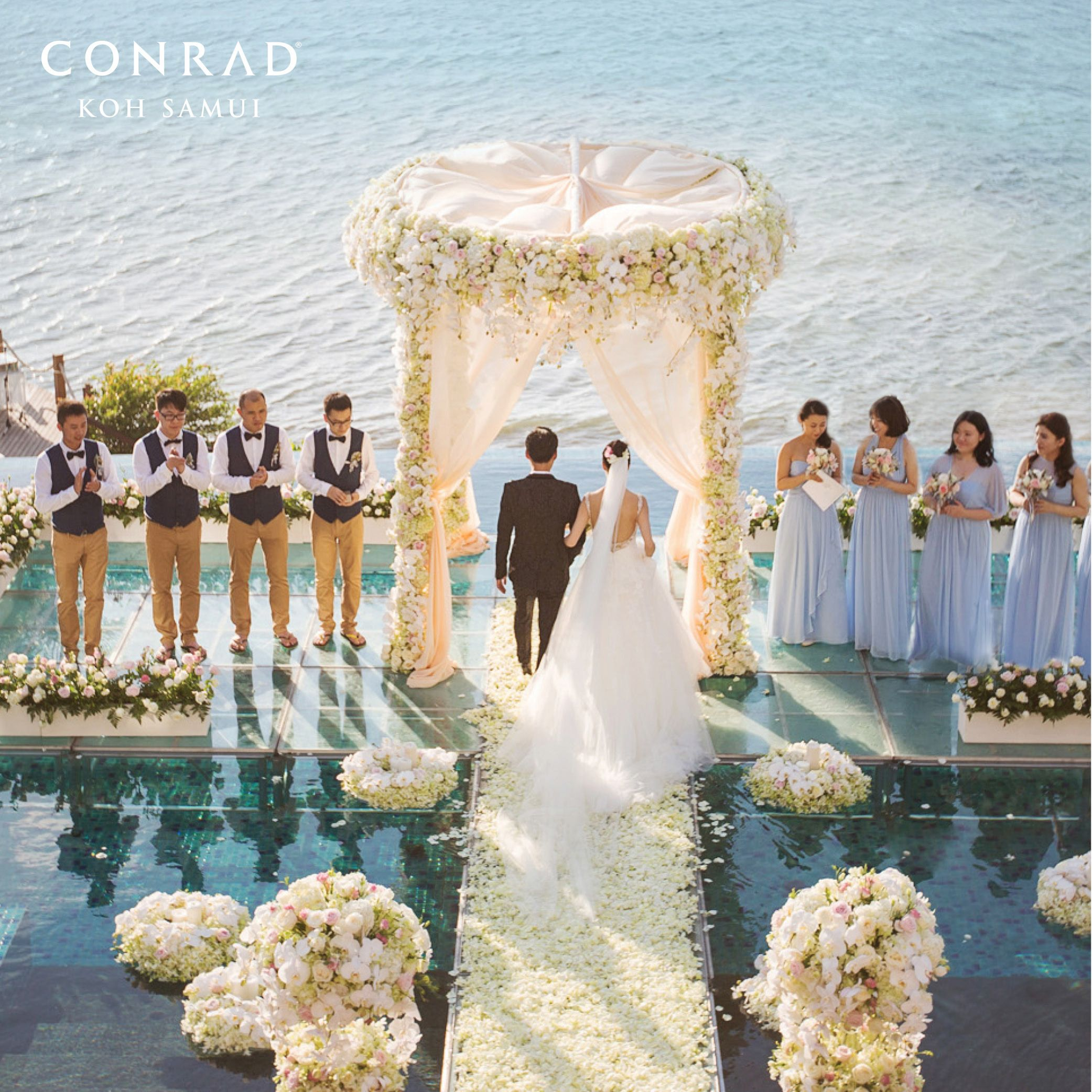 Belongil Beach Wedding Ceremony: Exchange #wedding Vows On The Idyllic Tropical #beach